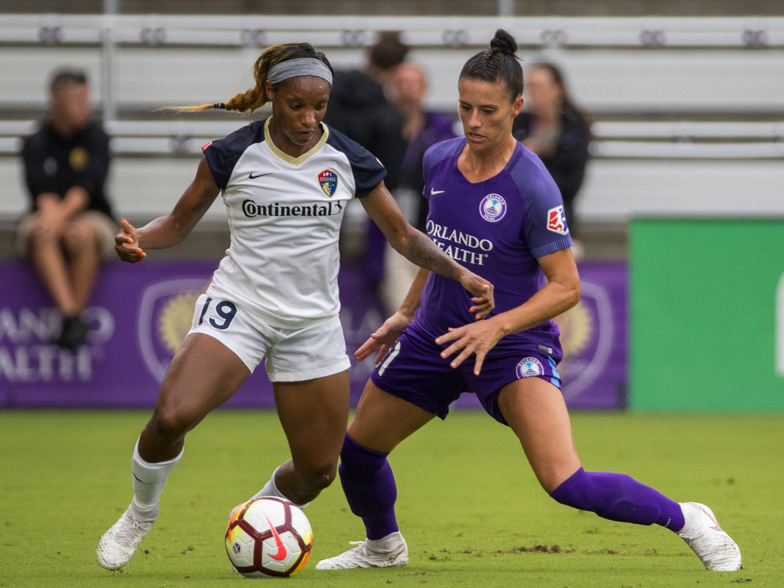 Crystal Dunn stars for the North Carolina Courage