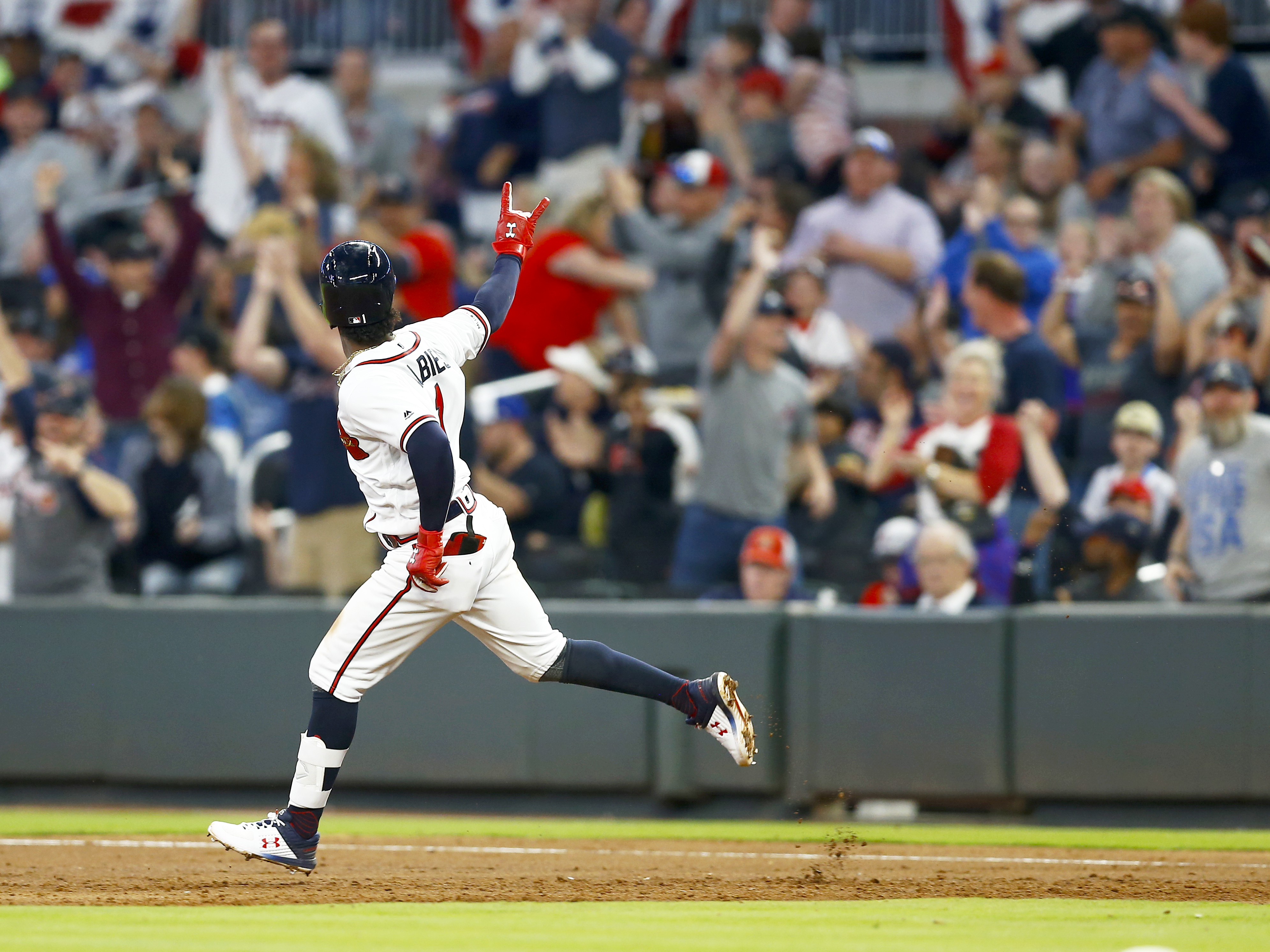 Ozzie Albies: Braves Second Baseman Improving On Offense