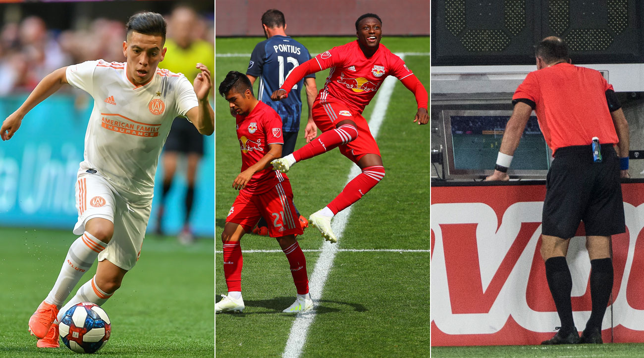 Ezequiel Barco and Derrick Etienne Jr. score goals, while Ted Unkel takes one off the board in MLS Week 10