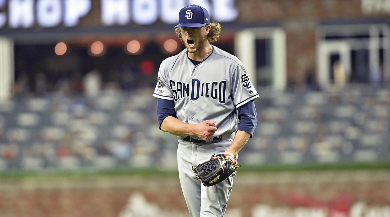 MLB: APR 30 Padres at Braves