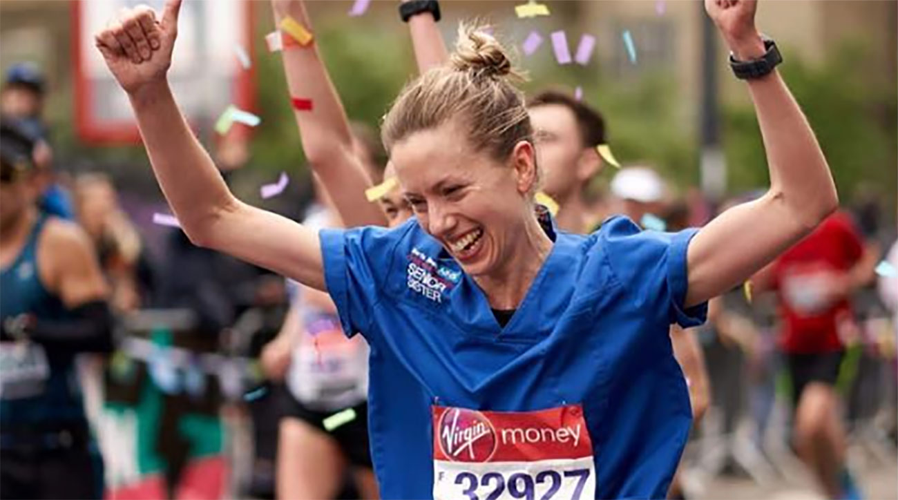 jessica anderson fastest marathon nurse