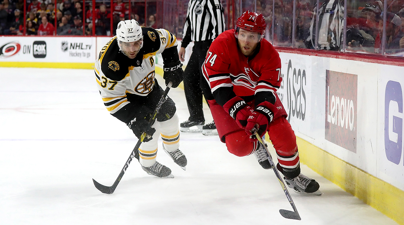 Boston Bruins v Carolina Hurricanes