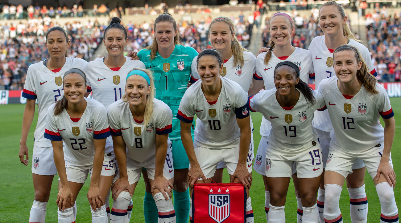U.S. Soccer is being sued by the U.S. women's national team players for gender discrimination