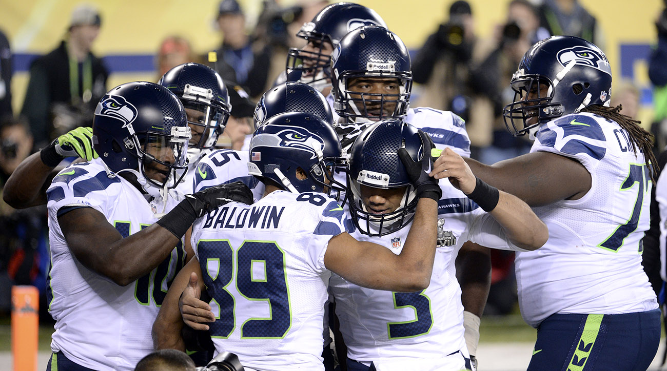 Doug Baldwin scores Super Bowl 48 touchdown from Russell Wilson