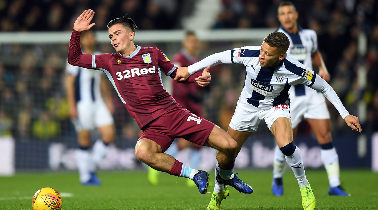 West Brom and Aston Villa meet in the promotion playoff semifinals