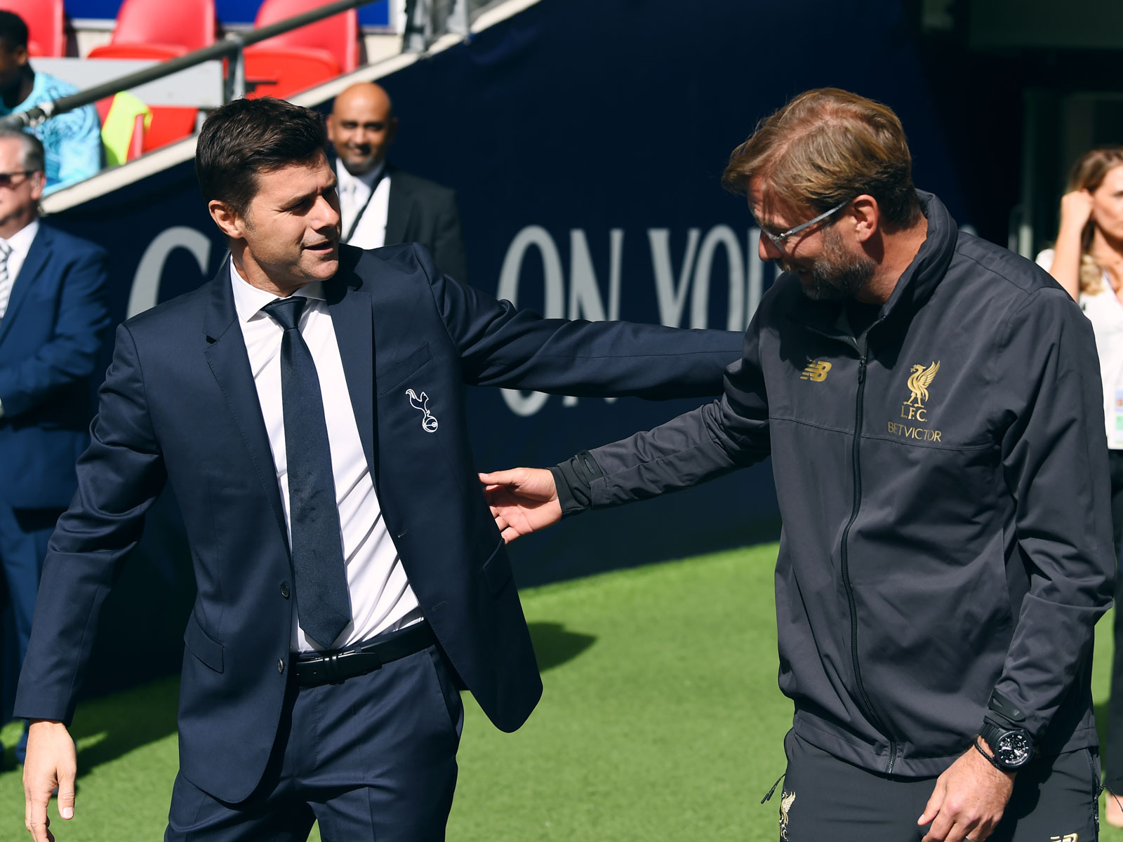 Mauricio Pochettino and Jurgen Klopp go head-to-head in the Champions League final