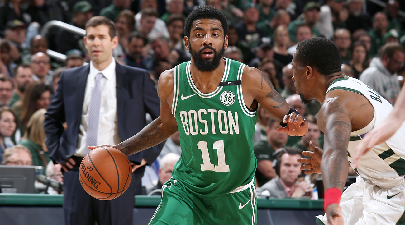 Irving brushes off questions on future after Celtics bow out