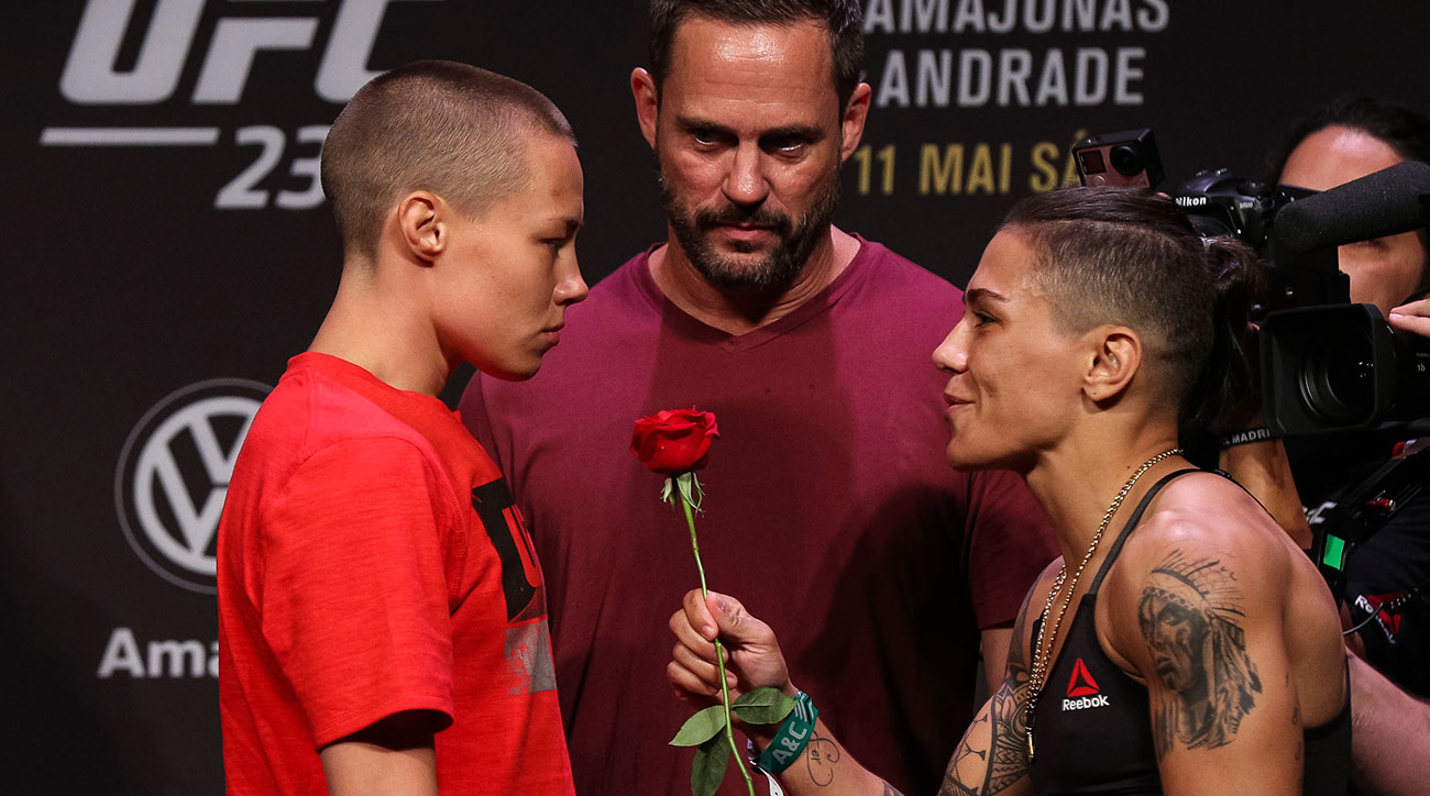 UFC 237 Jessica Andrade Rose Namajunas