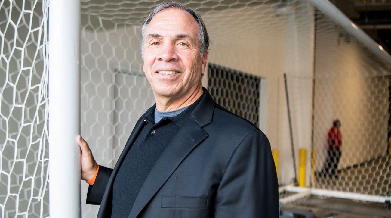 Bruce Arena is the new coach of the New England Revolution