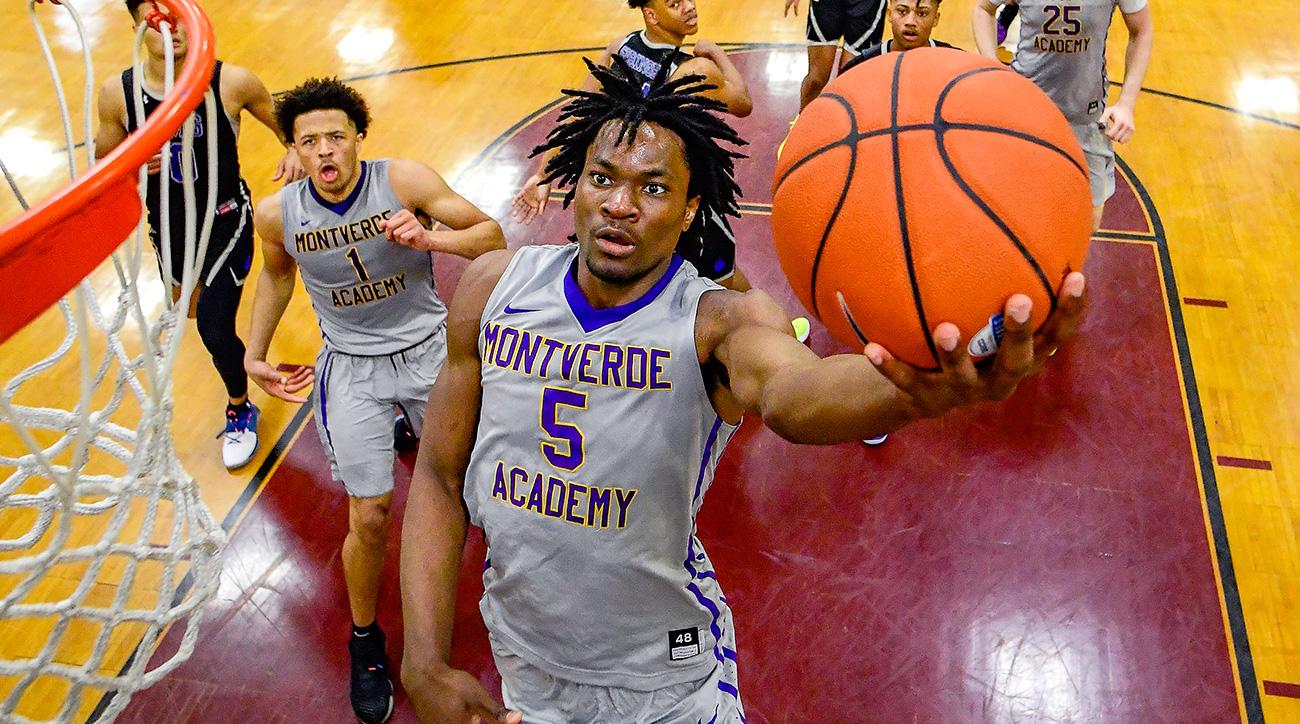 College basketball recruiting 2019 Precious Achiuwa Kansas Memphis Kentucky Jaden McDaniels RJ Hampton