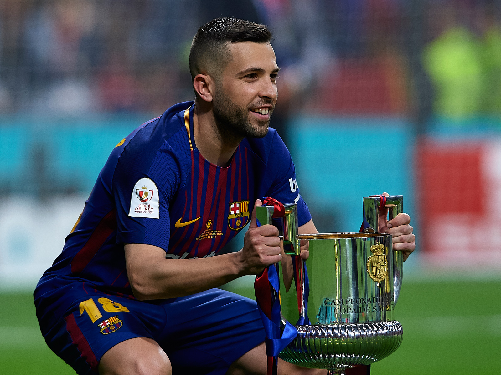 Barcelona is hoping to win the Copa del Rey again