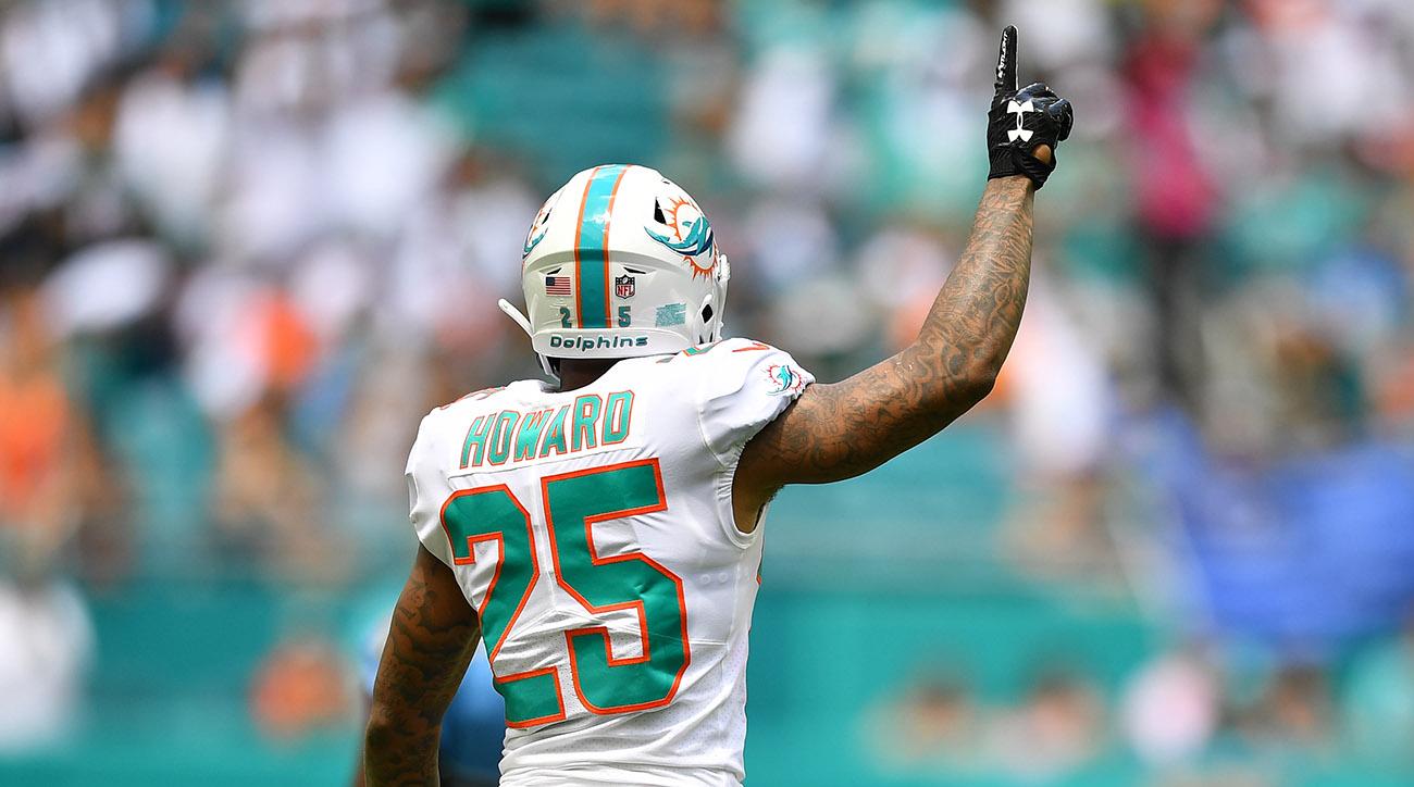 Xavien Howard, Miami Dolphins cornerback