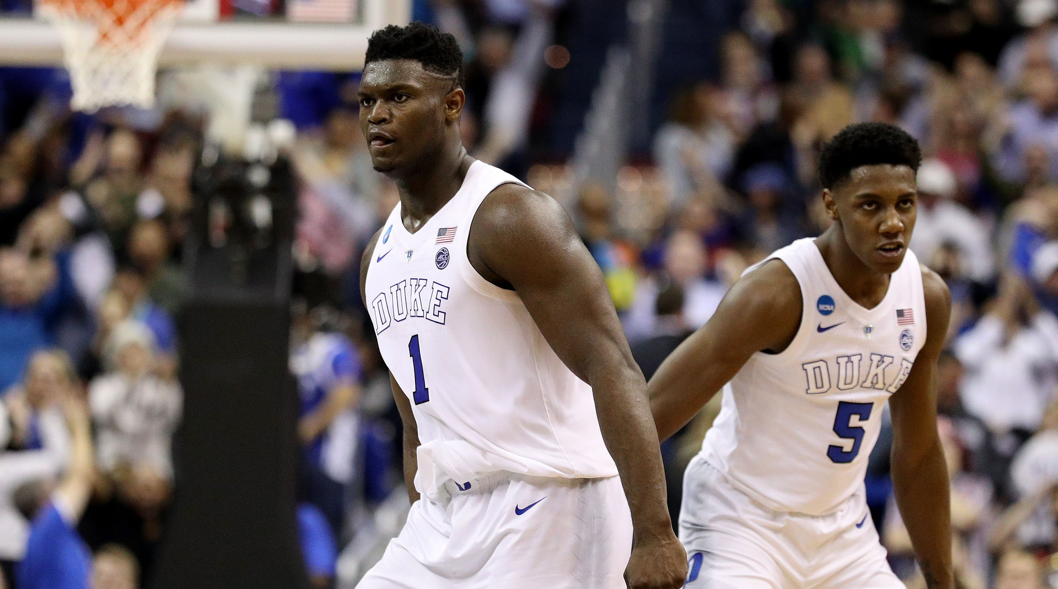 853342713a07 NBA Draft Lottery Roundtable  What Zion Williamson Suitors Stand to Lose