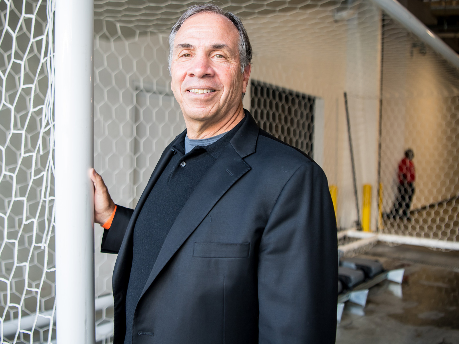 Bruce Arena is the new coach and sporting director of the New England Revolution