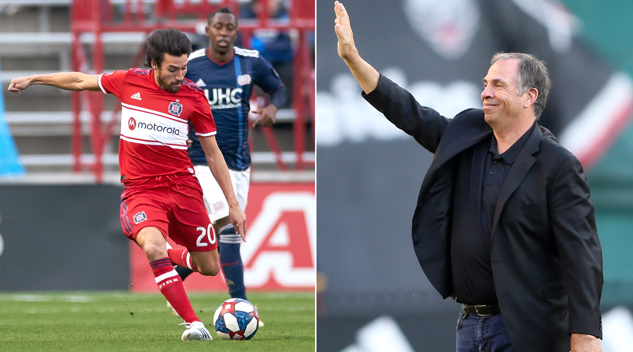 The Chicago Fire and New England Revolution are fighting for relevance in today's MLS