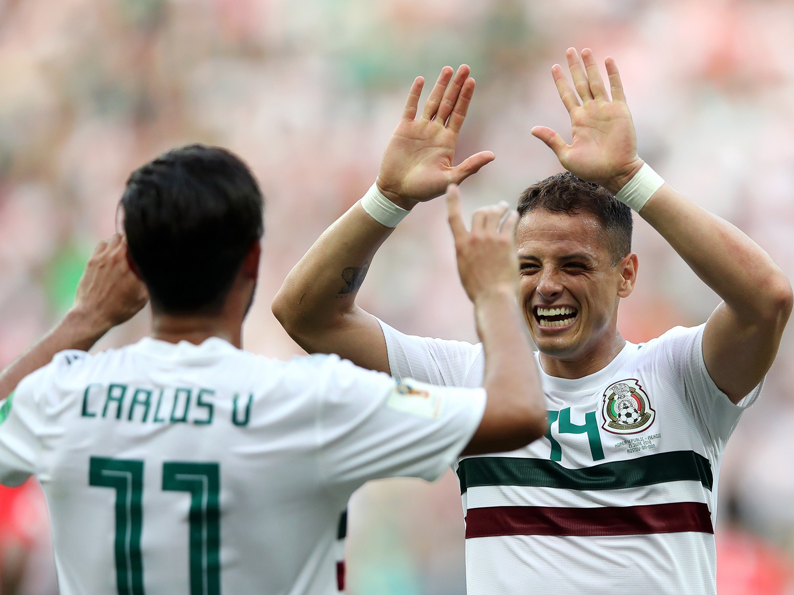 Chicharito and Carlos Vela will not be going to the Gold Cup