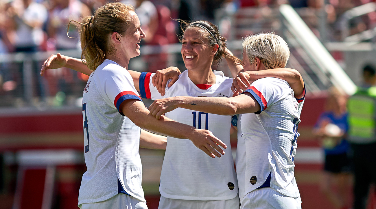 The USWNT hosts New Zealand in a friendly