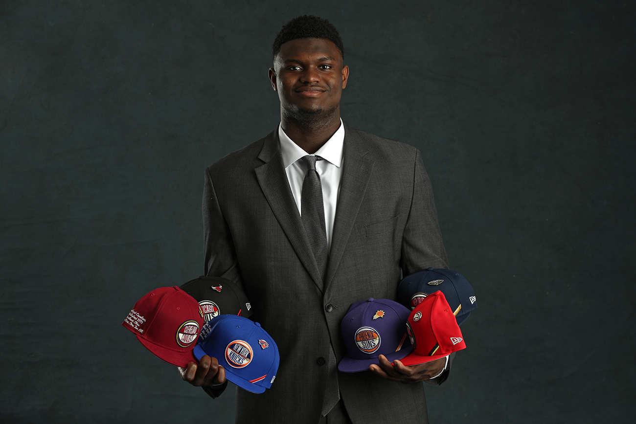 2019 NBA Draft Lottery Portraits