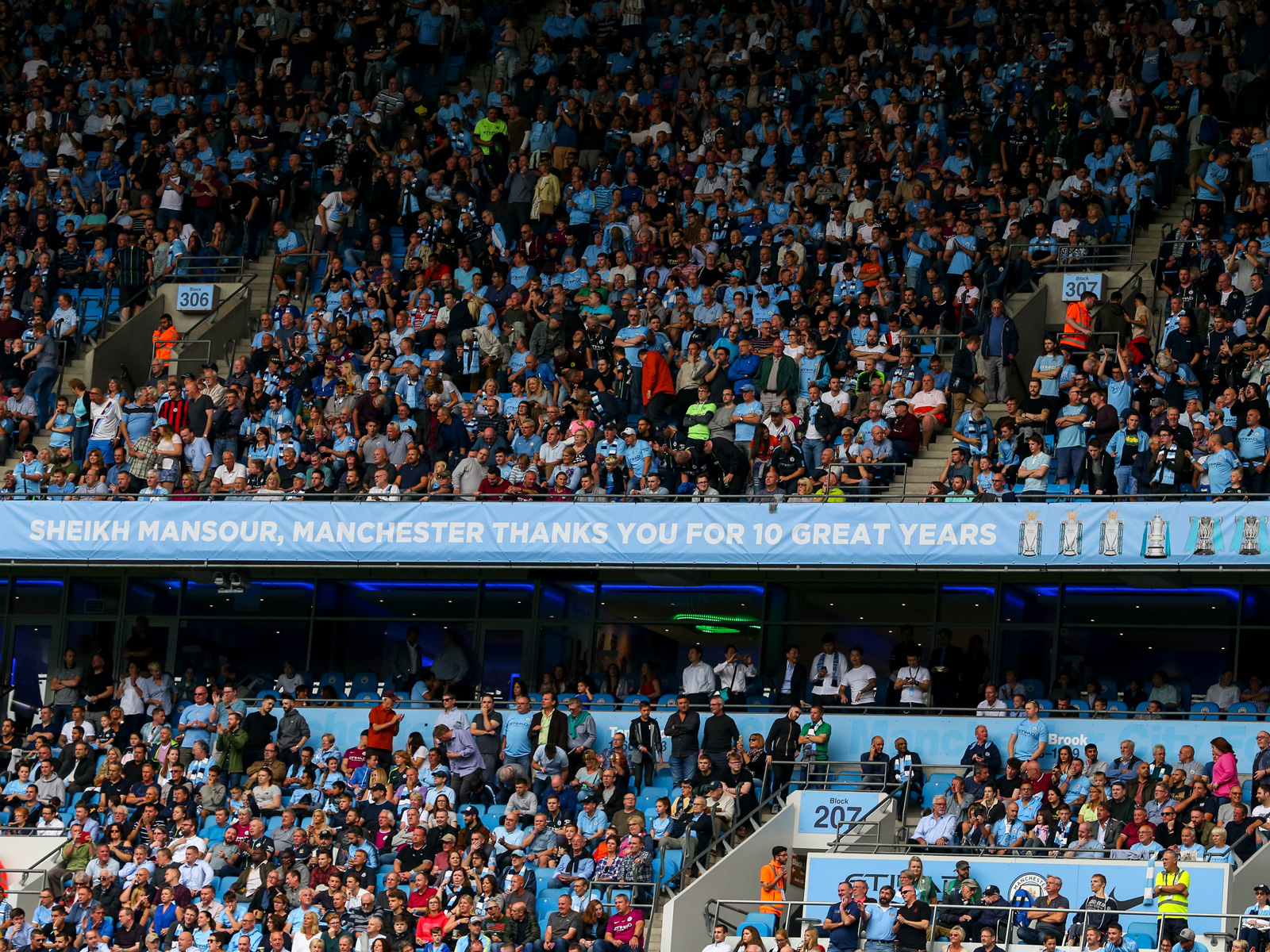 Man City has enjoyed a run of success under Sheikh Mansour's ownership
