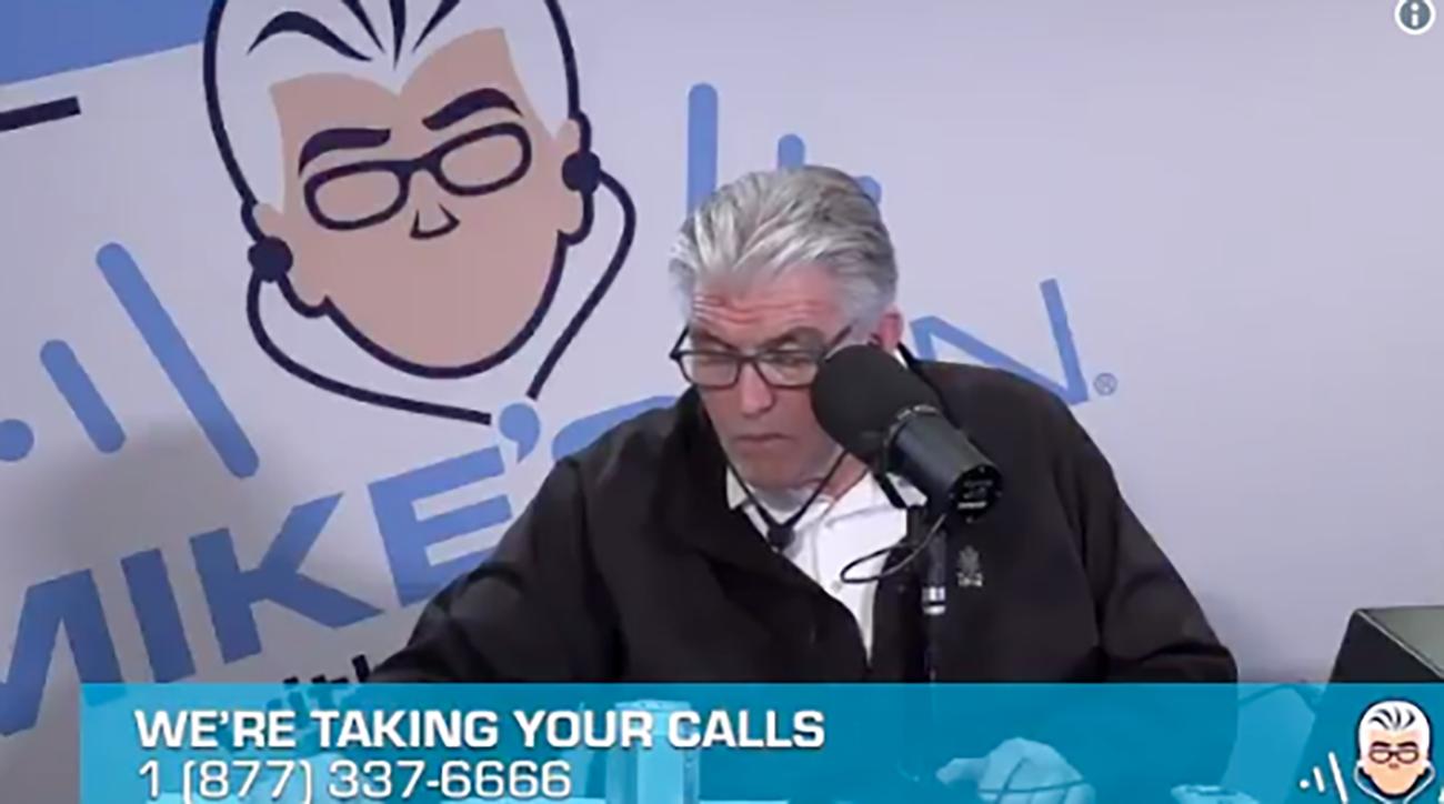 Mike Francesa appears to fall asleep on air