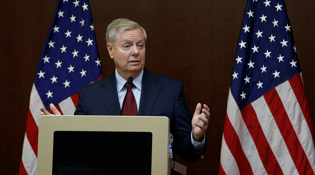 Lindsey Graham, Republican Senator from South Carolina