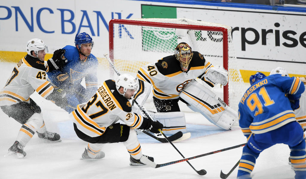 NHL: FEB 23 Bruins at Blues