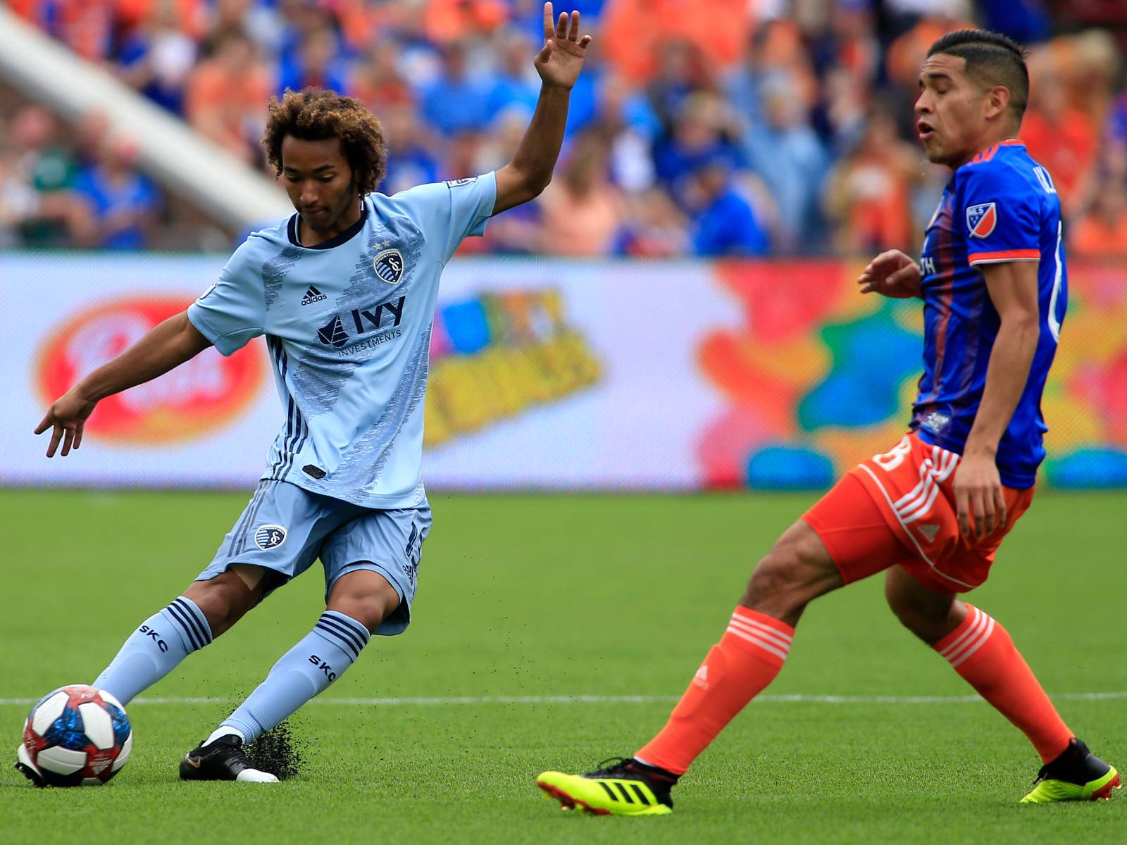 Gianluca Busio has performed well with Sporting KC