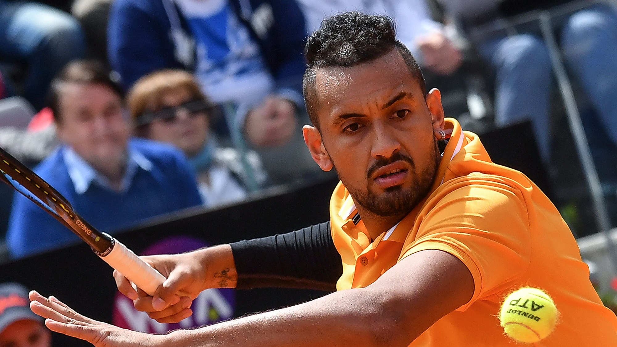 Nick Kyrgios French Open 2019
