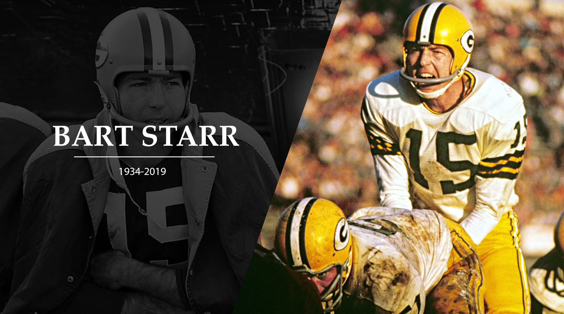 Legendary Packers QB Bart Starr