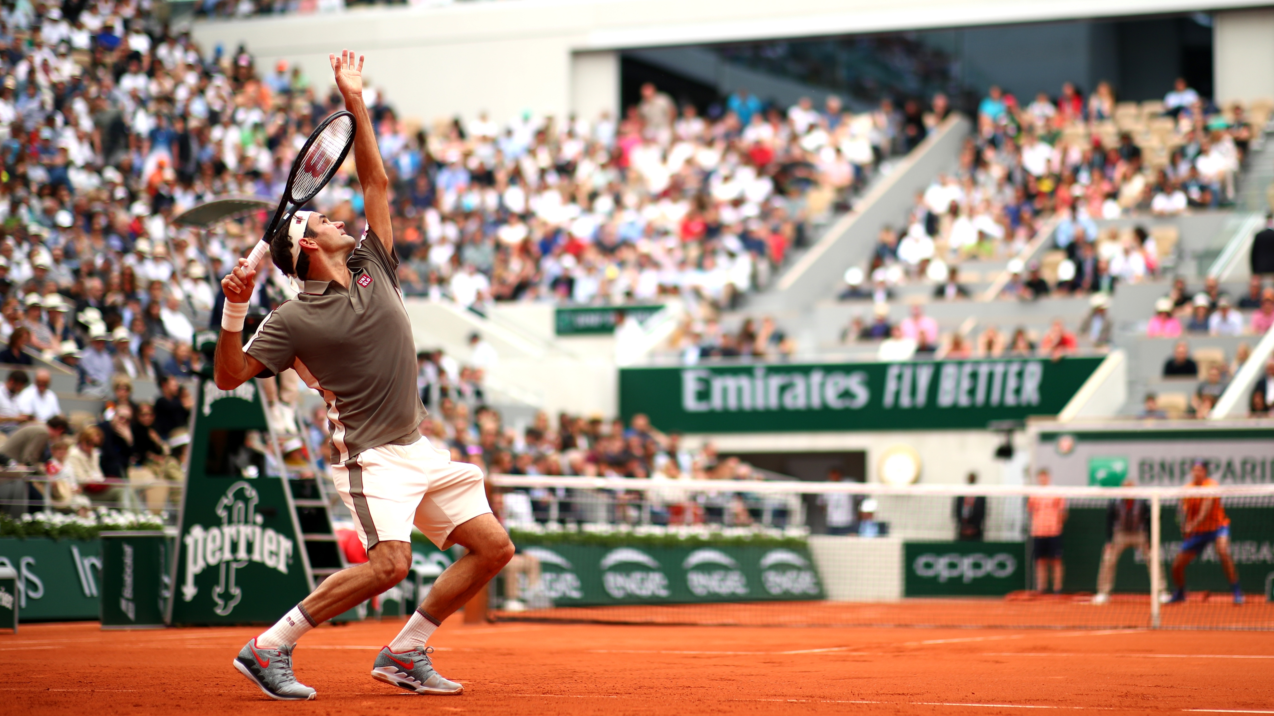 Roger Federer roland garros french open 2019