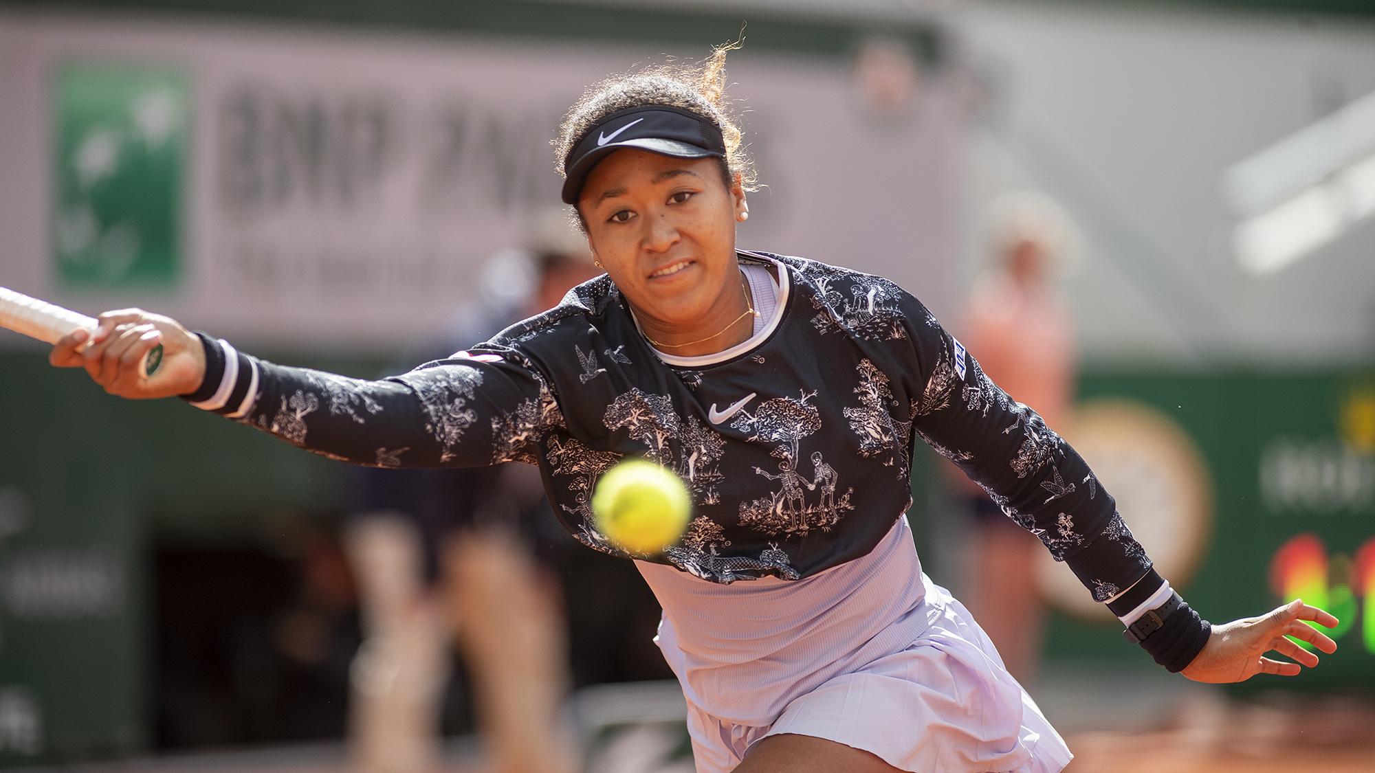 Naomi Osaka French Open roland garros