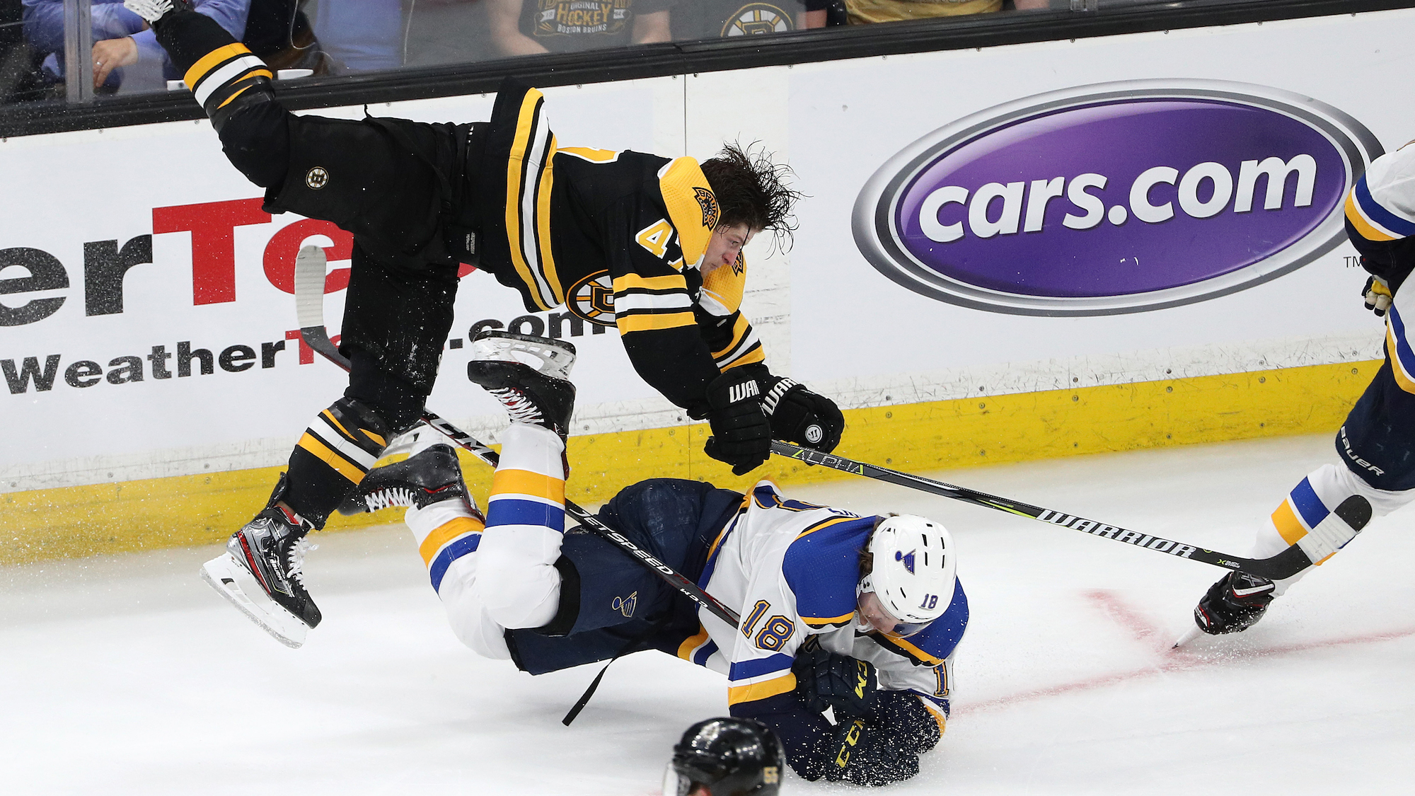 Stanley Cup Final: Torey Krug shift vs Blues (video)