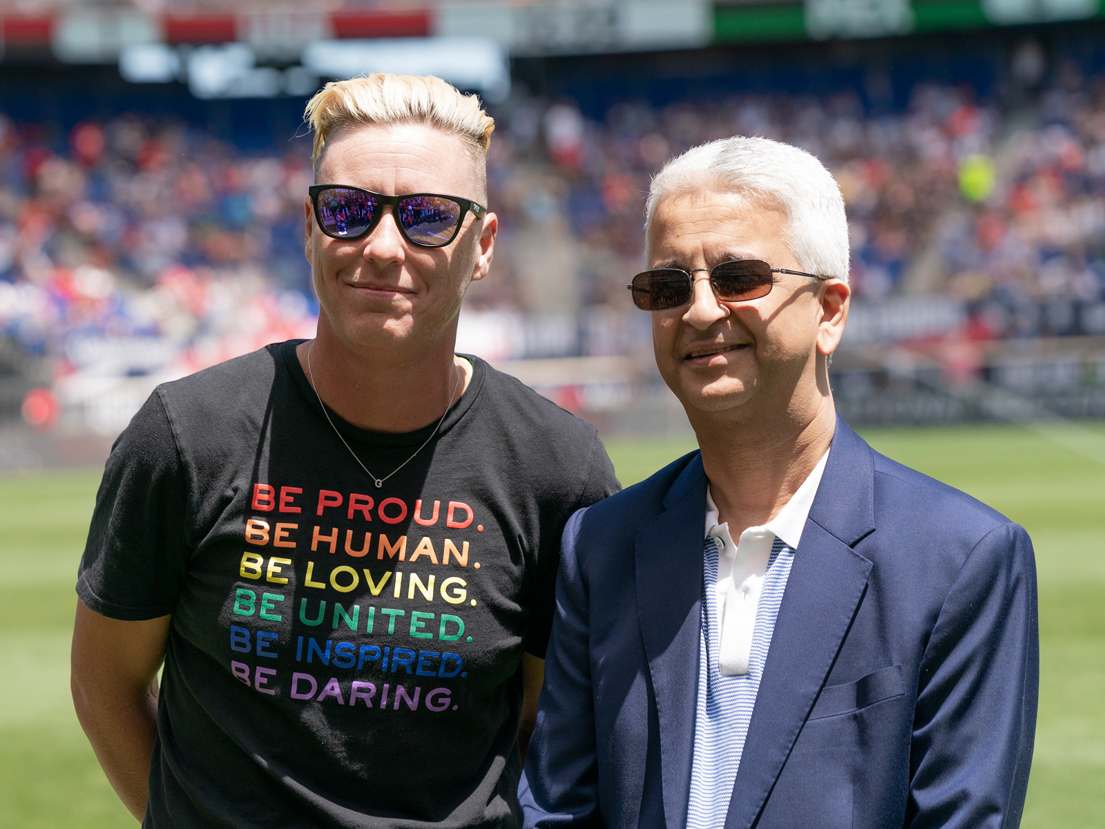 Abby Wambach and Sunil Gulati will be inducted into the National Soccer Hall of Fame