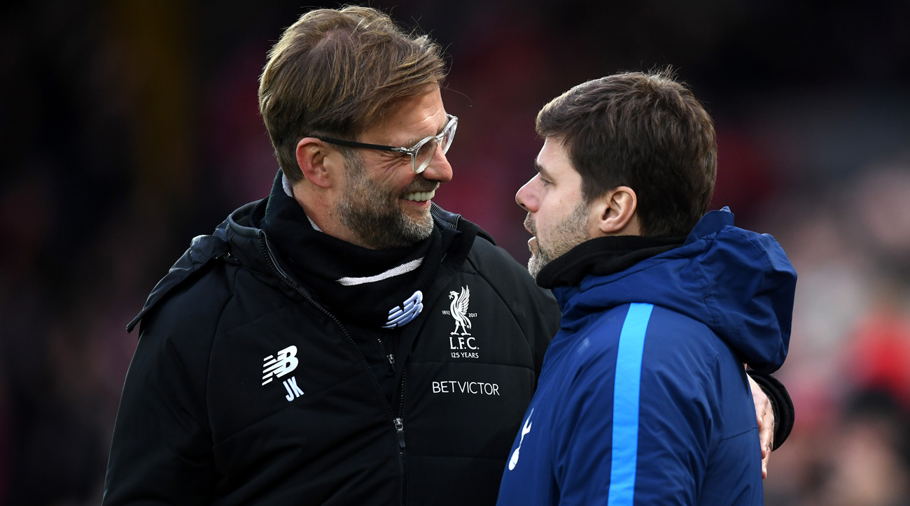 Jurgen Klopp and Mauricio Pochettino go head-to-head in the Champions League final