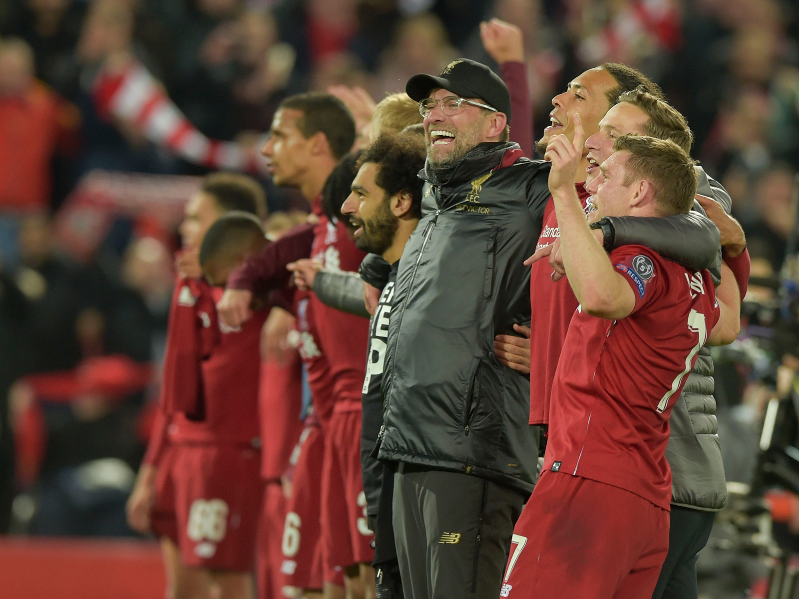 Jurgen Klopp and Liverpool are back in the Champions League final