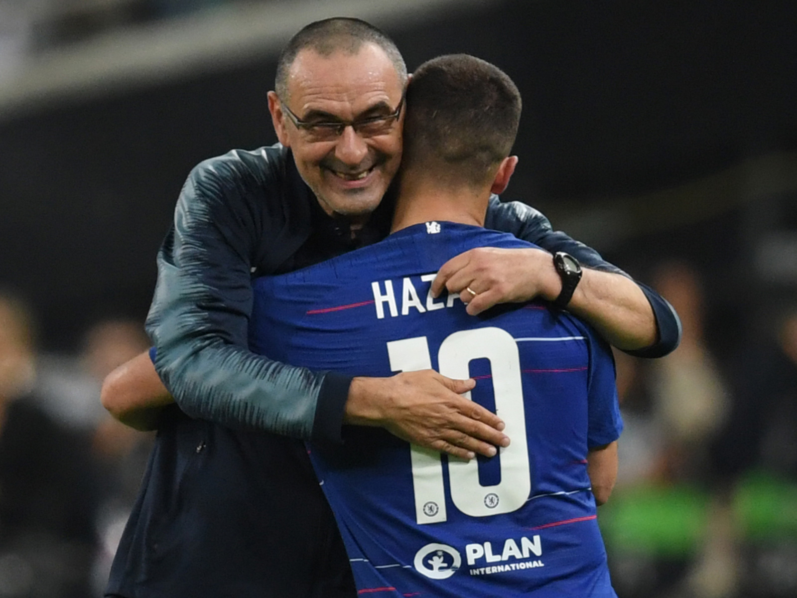 Maurizio Sarri and Eden Hazard could both be leaving Chelsea