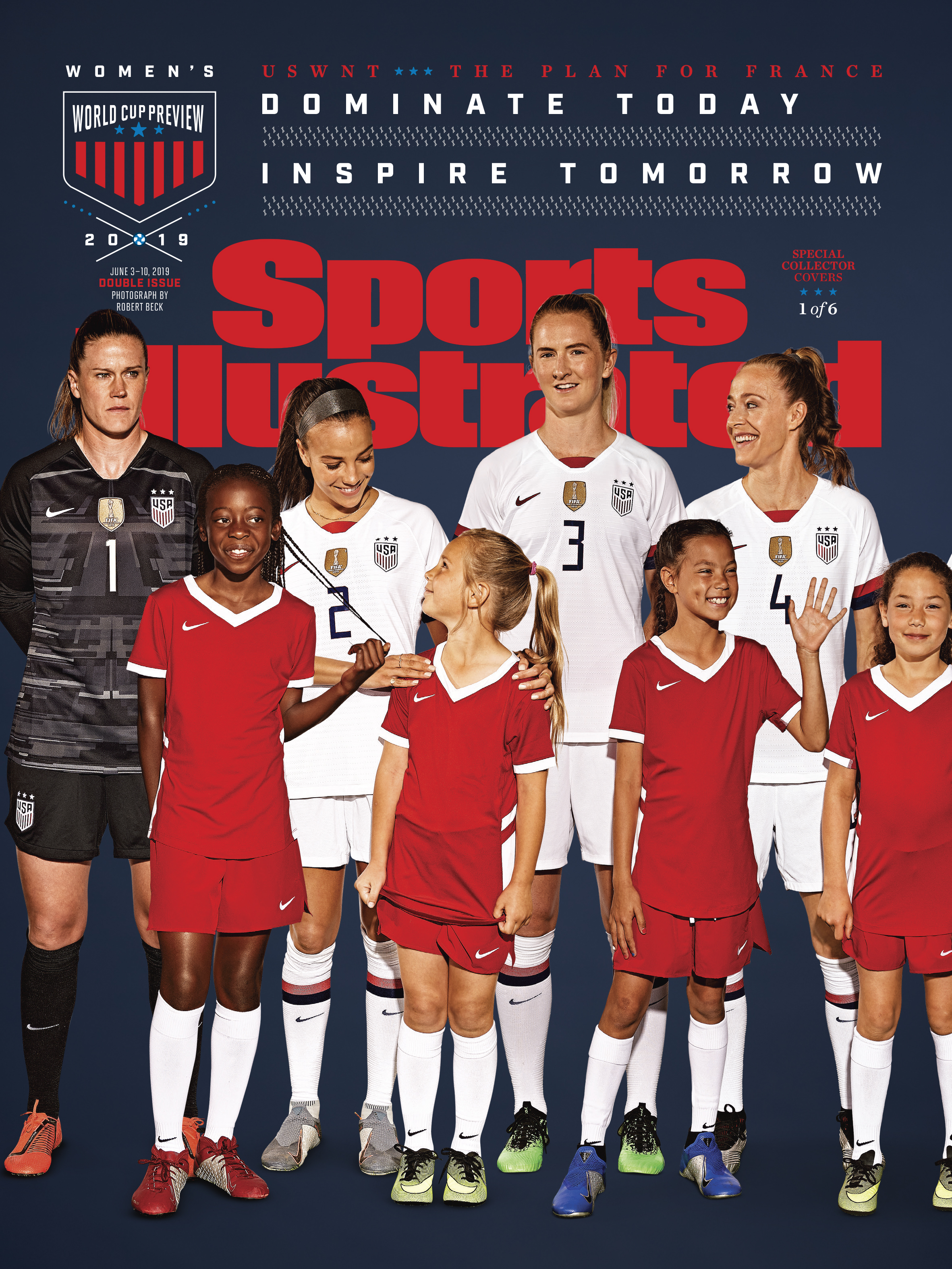 USWNT SI Cover A