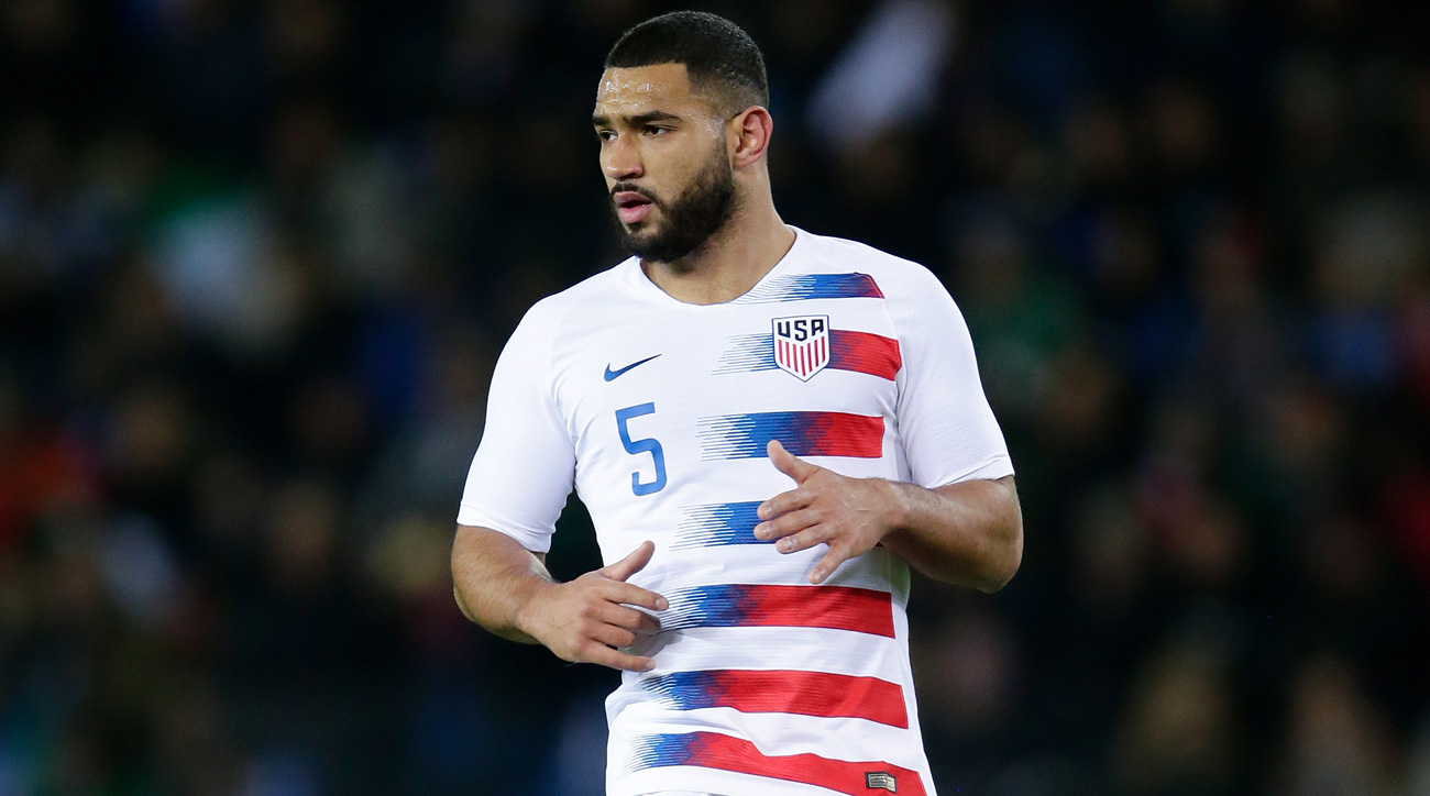 Cameron Carter-Vickers's parent club, Tottenham, is in the Champions League final