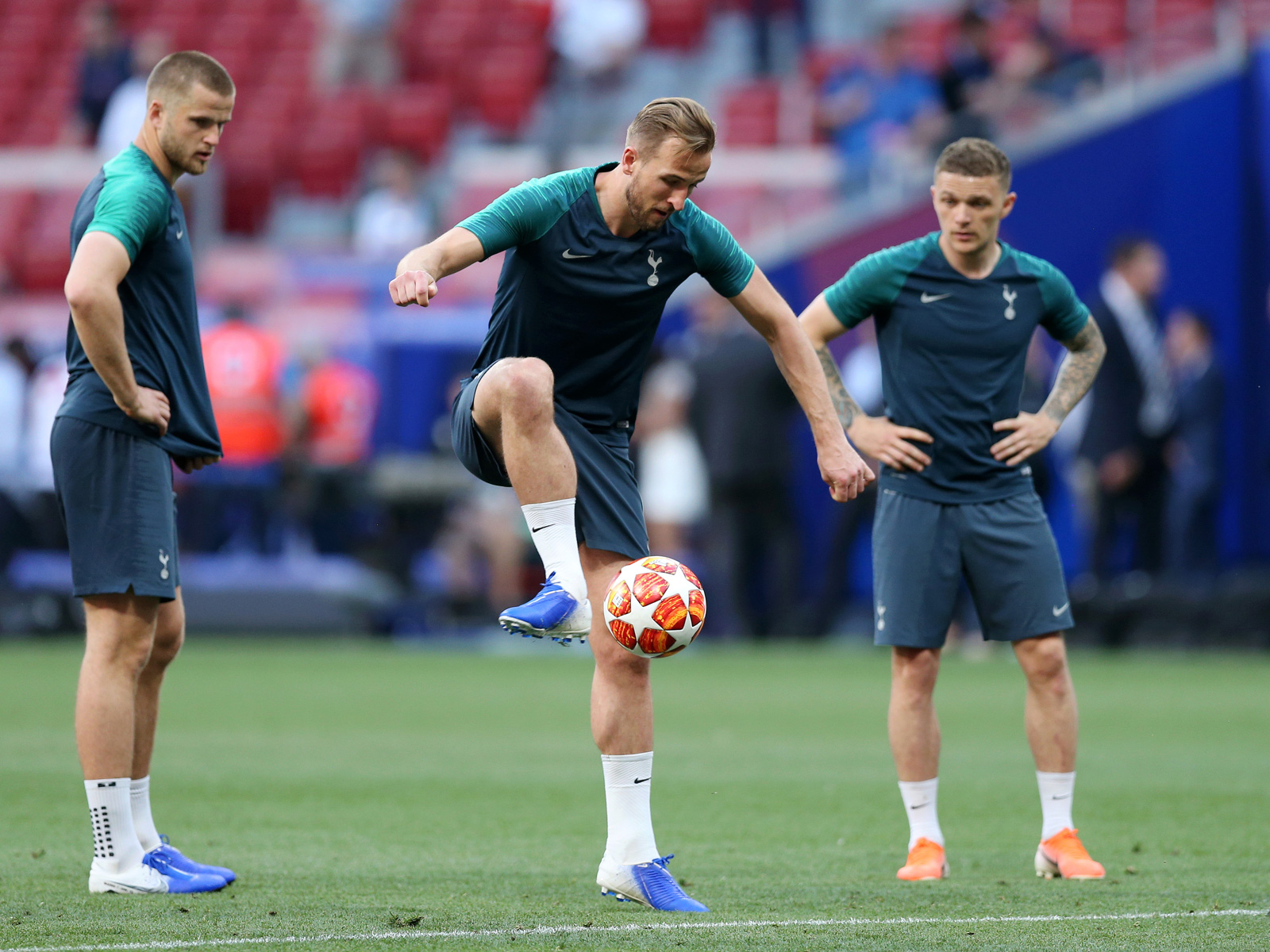 Harry Kane could start for Tottenham in the Champions League final
