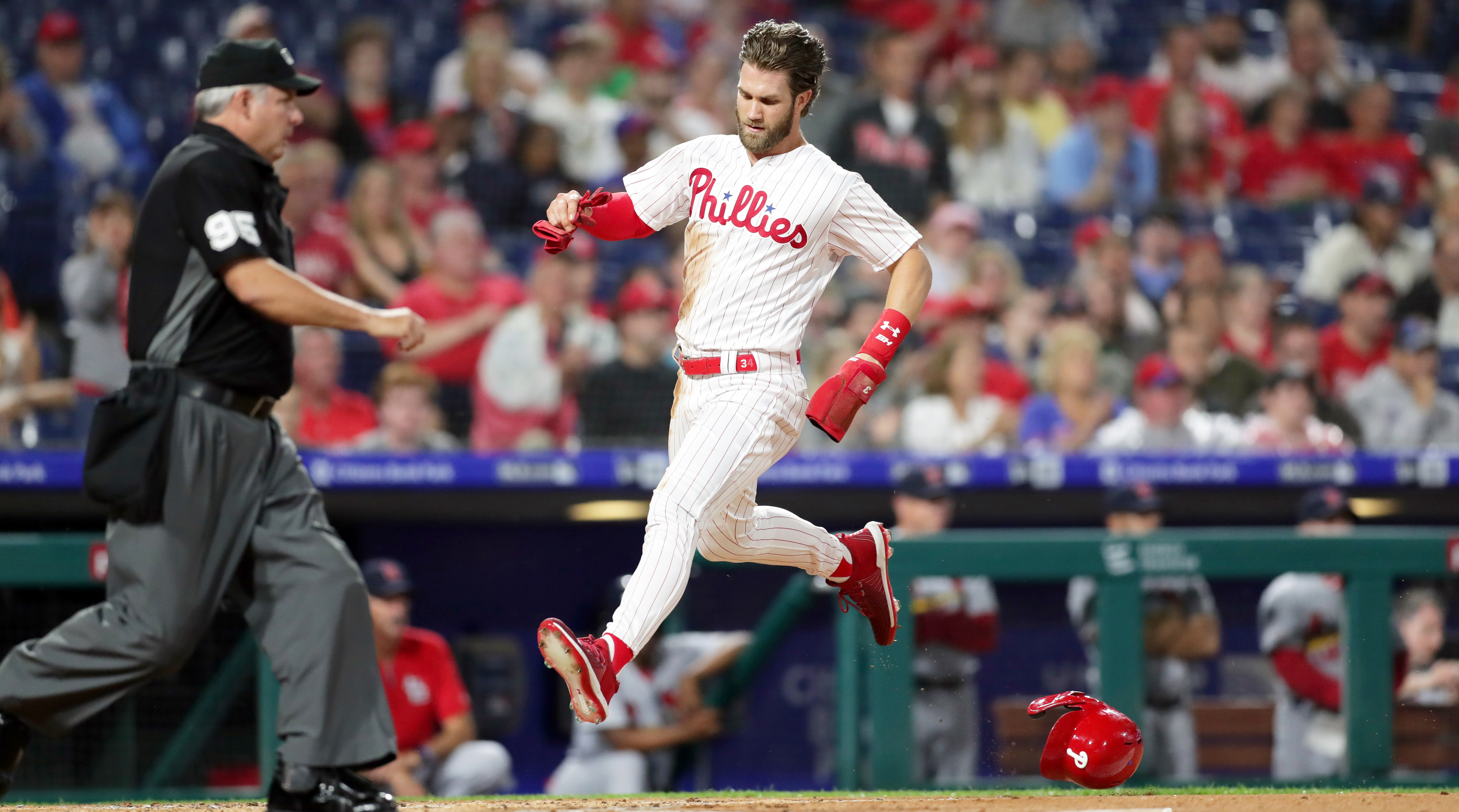 f3ab044e Bryce Harper: Phillies outfielder is getting hot in time for June ...