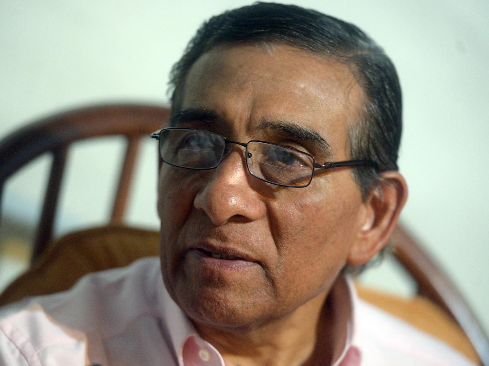 Former El Salvador captain Salvador Mariona.
