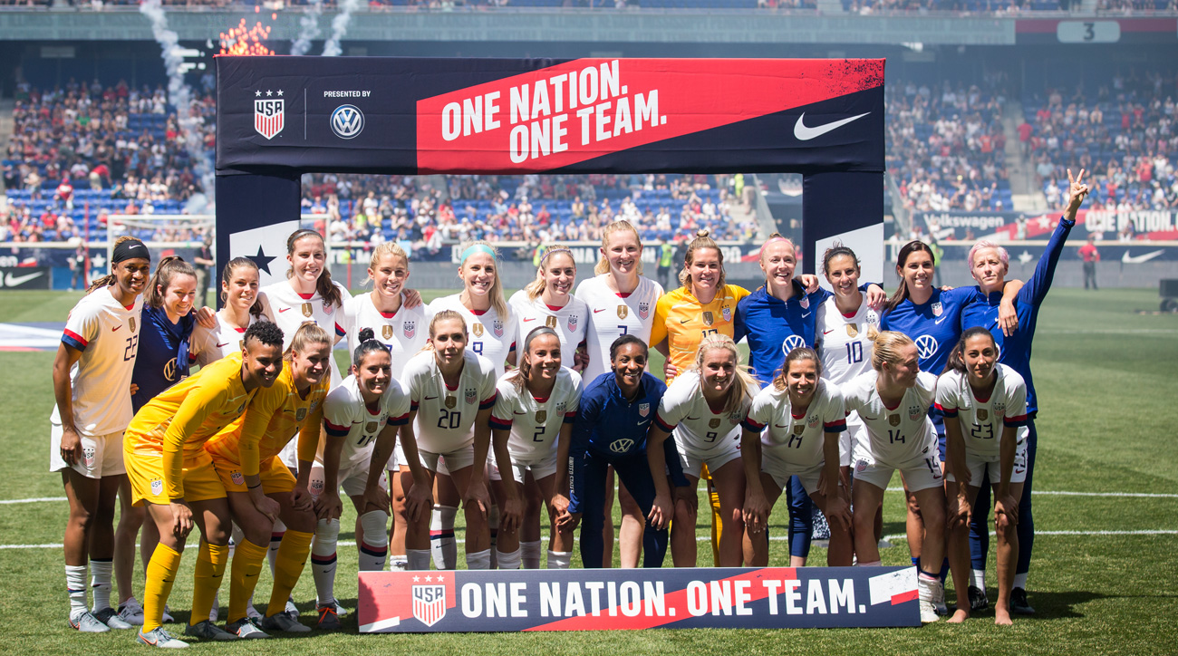 The U.S. women's national team is preparing for a Women's World Cup while fighting for equal pay