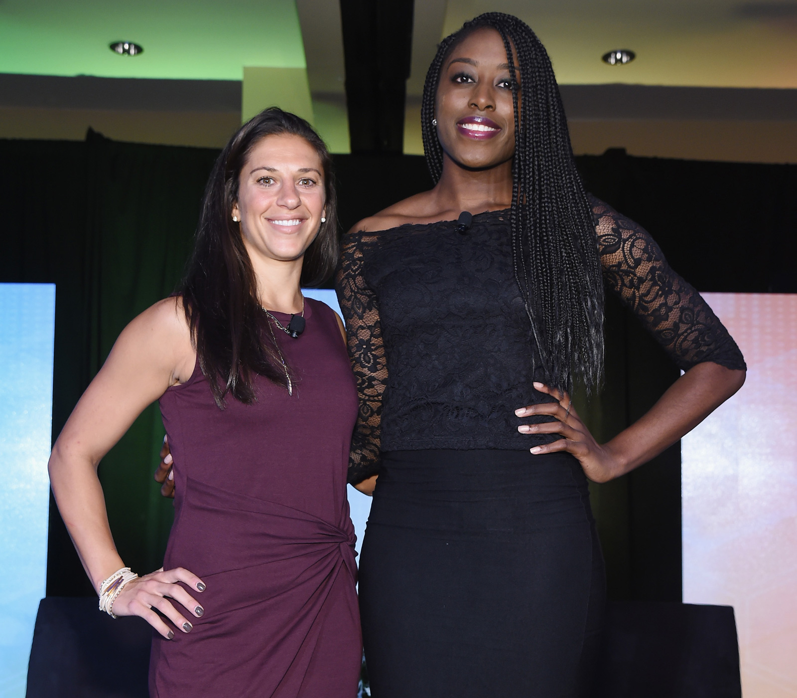 U.S. women's national team star Carli Lloyd and WNBA star Chiney Ogwumike