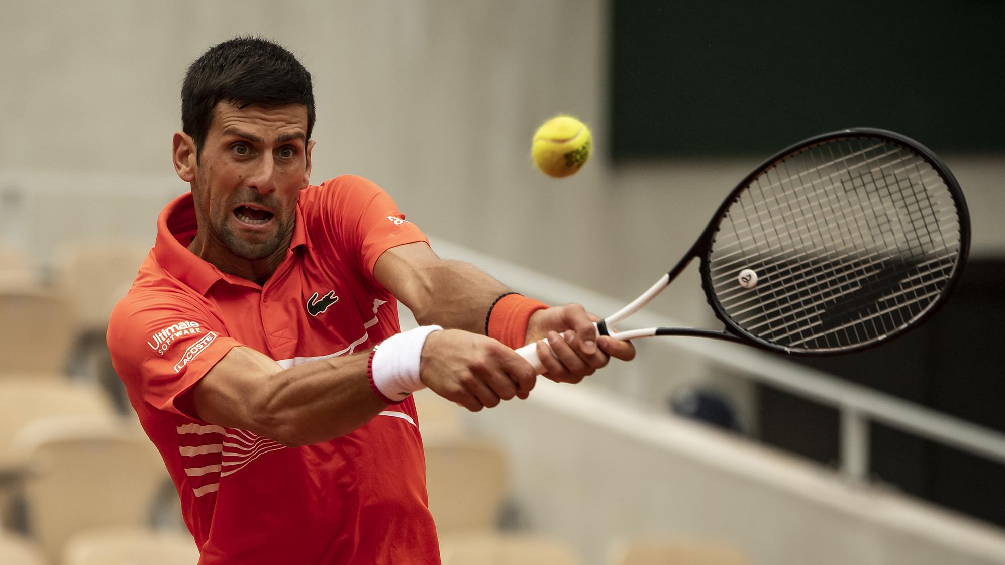 Novak Djokovic Roland Garros French Open