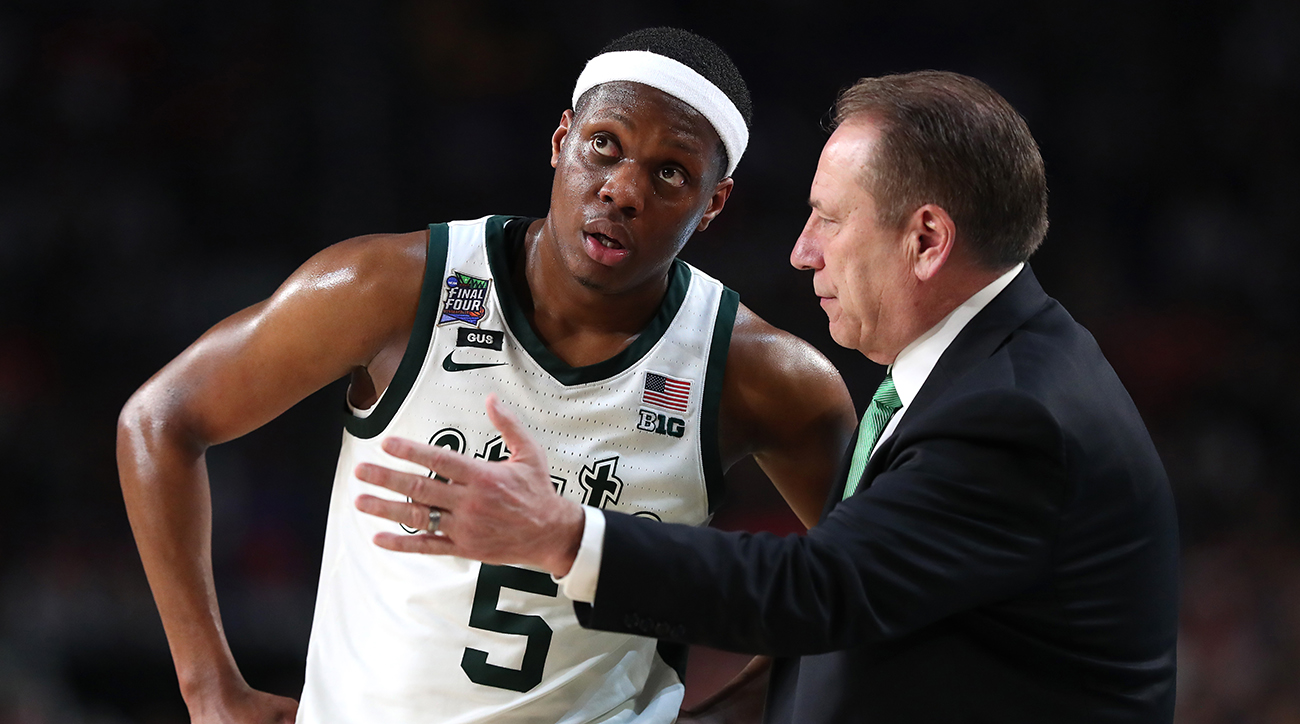 college basketball, 2020 march madness, 2020 ncaa tournament, michigan state spartans, kentucky wildcats, Cassius Winston, wire