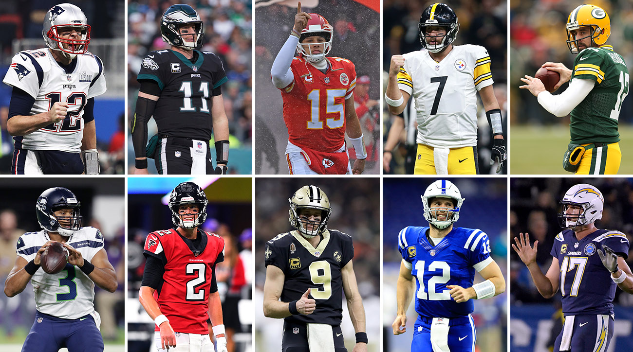 Ranking The Nfl S Top 10 Quarterbacks For 2019 Sports