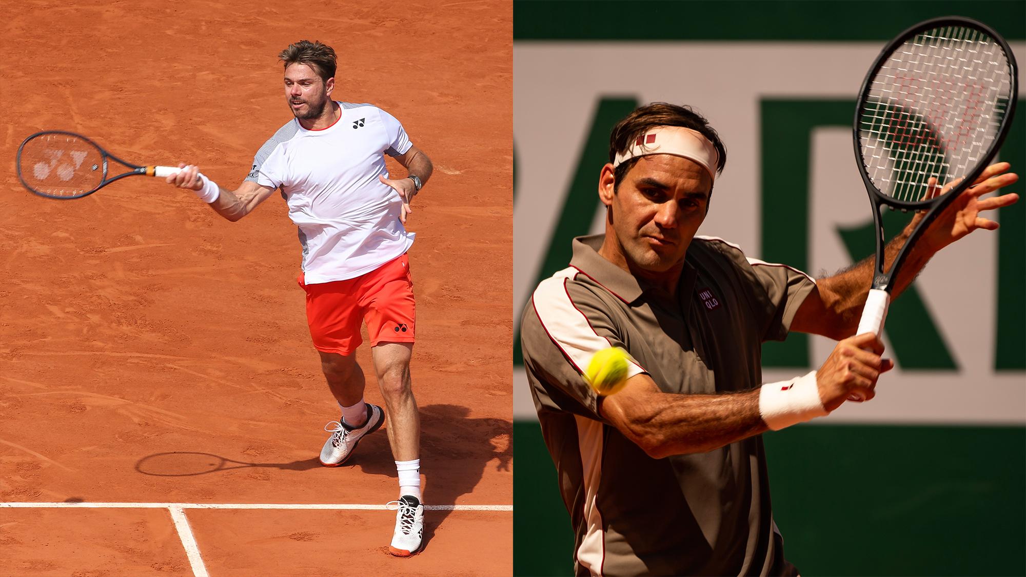 Stanislas Wawrinka Roger Federer