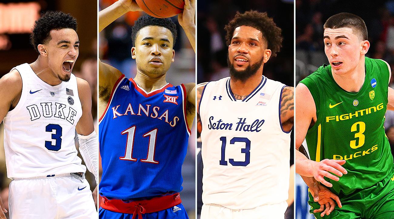College basketball 2019-20 rankings top 25 Duke Kentucky Kansas UNC Louisville Maryland