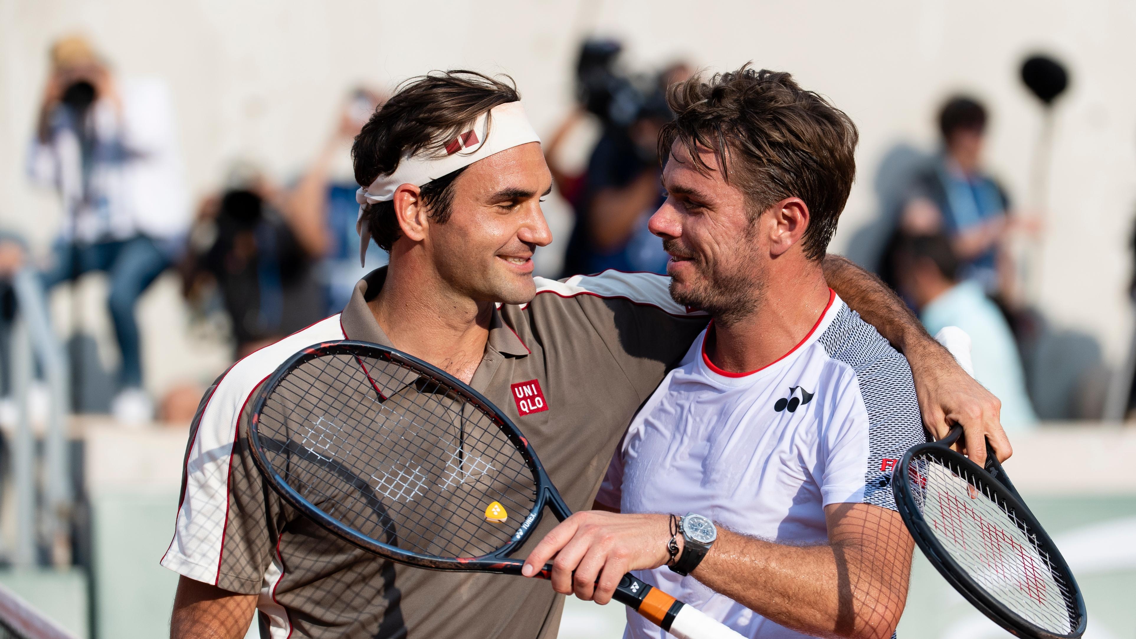Roger Federer Stanislas Wawrinka