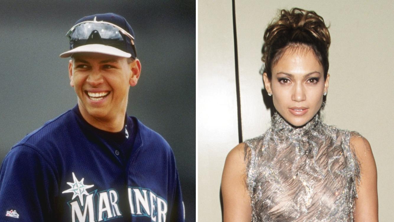 Alex Rodriguez had a crush on Jennifer Lopez in 1998